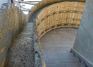 Impresa edile strutture in cemento armato tnt edilizia ancona macerata pesaro urbino - Scale in cemento armato ...
